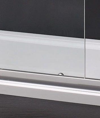 Aquatek - MASTER R33 Chrom Sprchová zástěna obdélníková 120x90cm, barva rámu chrom, výplň sklo - matné (MASTERR33-177)