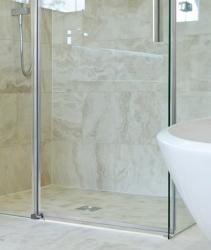 Aquatek - NOBEL R33 Chrom Luxusní sprchová zástěna obdélníková 120x90cm, sklo 8mm (NOBELR33), fotografie 6/4