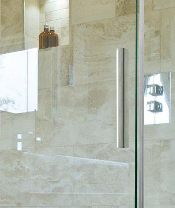 Aquatek - NOBEL R53 Chrom Luxusní sprchová zástěna obdélníková 140x90cm, sklo 8mm (NOBELR53)