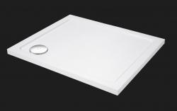 Aquatek - SMC 100x80cm sprchová vanička z tvrzeného polymeru, doplňky čelní krycí panel (SMC10080-23)