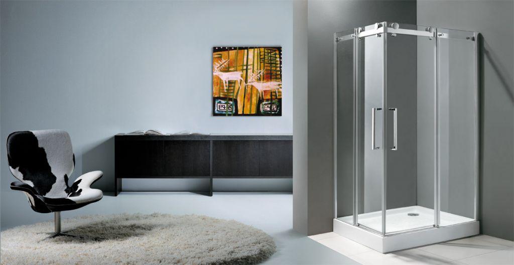 Aquatek - TEKNO R34 120x90cm Luxusní sprchová zástěna čiré sklo 8mm (TEKNOR34)