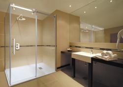 Aquatek - TEKNO R63 Chrom Luxusní sprchová zástěna obdélníková 160x90cm, sklo 8mm, varianta levá (TEKNOR63-13), fotografie 8/4