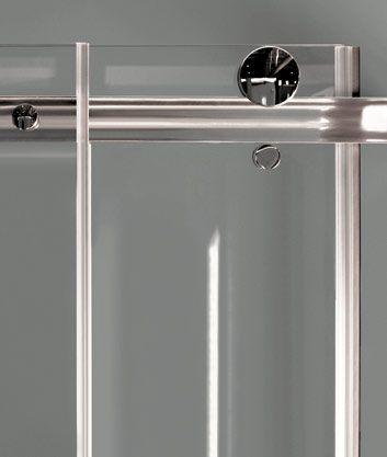 Aquatek - TEKNO R63 Chrom Luxusní sprchová zástěna obdélníková 160x90cm, sklo 8mm, varianta levá (TEKNOR63-13)