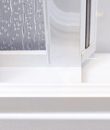 Aquatek - Vanová zástěna ROYAL V3 151-160cm, výplň plast - voda (ROYALV3160-20)