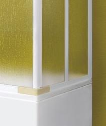 Aquatek - Vanová zástěna včetně bočního dílu ROYAL VA4 180cm, výplň Krilex (ROYALVA4180), fotografie 8/4