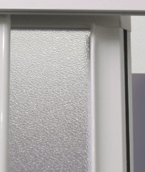 Aquatek - ROYAL B3 - Sprchové dveře zasouvací 100-110cm, výplň sklo - grape (ROYALB3110-19), fotografie 6/4