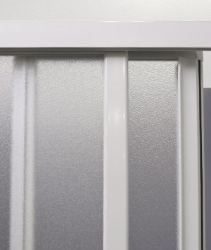 Aquatek - ROYAL B3 - Sprchové dveře zasouvací 130-140cm, výplň sklo - grape (ROYALB3140-19), fotografie 4/4