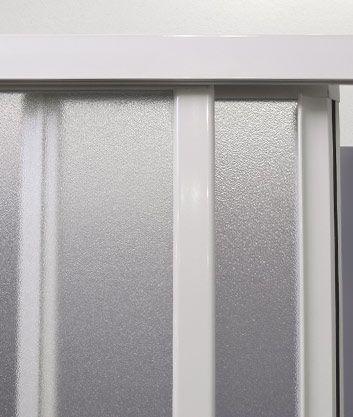 Aquatek - ROYAL B3 - Sprchové dveře zasouvací 130-140cm, výplň plast - voda (ROYALB3140-20)