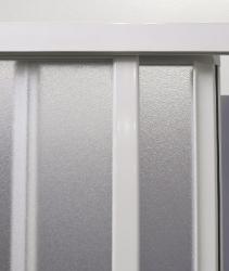 Aquatek - ROYAL B3 - Sprchové dveře zasouvací 130-140cm, výplň plast - voda (ROYALB3140-20), fotografie 4/4