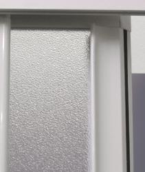 Aquatek - ROYAL B3 - Sprchové dveře zasouvací 90-100cm, výplň sklo - grape (ROYALB3100-19), fotografie 6/4