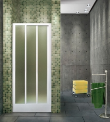 Aquatek - ROYAL B3 - Sprchové dveře zasouvací 90-100cm, výplň plast - voda (ROYALB3100-20)