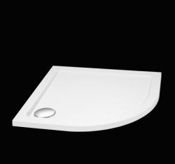 Aquatek - SMC 80x80cm sprchová vanička z tvrzeného polymeru čtvrtkruhová (SMC80)