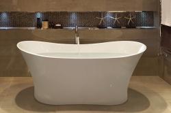 Aquatek - Volně stojící akrylátová vana SANDIEGO 170x77 cm (SANDIEGO)