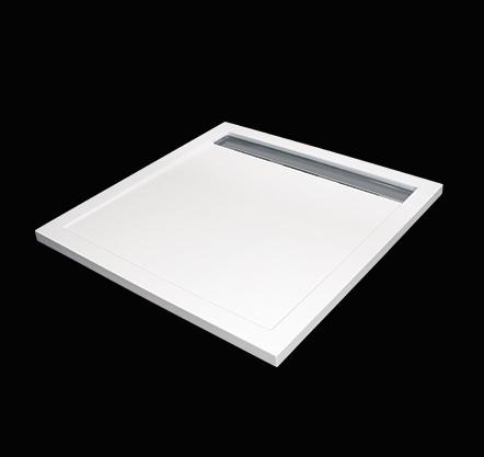 Aquatek LEVEL 90x90 sprchová vanička z litého mramoru čtvercová LEVEL90