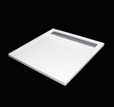 Aquatek - LEVEL 90x90 sprchová vanička z litého mramoru čtvercová (LEVEL90)