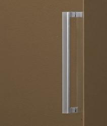 Aquatek - Tekno B2 - Luxusní sprchové dveře zasouvací 141-145 cm, sklo 8mm, výška 195 cm (TEKNOB2145-10), fotografie 4/3