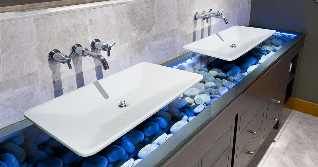 Aquatek PLAY umyvadlo z litého mramoru 60x46 cm, bílé PLAY