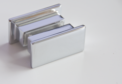 Aquatek - Glass B2 85 sprchové dveře do niky dvoukřídlé 82-86cm, barva rámu bílá, výplň sklo - čiré (GLASSB285-166), fotografie 18/9