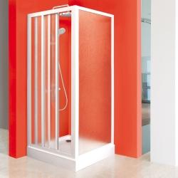 Aquatek - ROYAL F1 80 - Pevná stěna 77-80cm, výplň sklo - grape (ROYALF180-19)