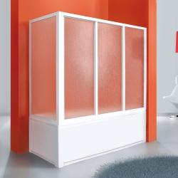 Aquatek - ROYAL VF1 70 - Pevná vanová zástěna 67,5-70cm, výplň sklo - grape (ROYALVF170-19)