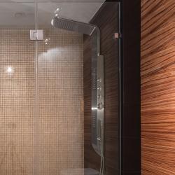 Aquatek - ELBA Hydromasážní sprchový panel, baterie termostatická (ELBA-25)