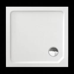 Aquatek - SMC MAXI 90x90cm sprchová vanička z tvrzeného polymeru čtvercová (SMCMAXI90CTV), fotografie 8/5