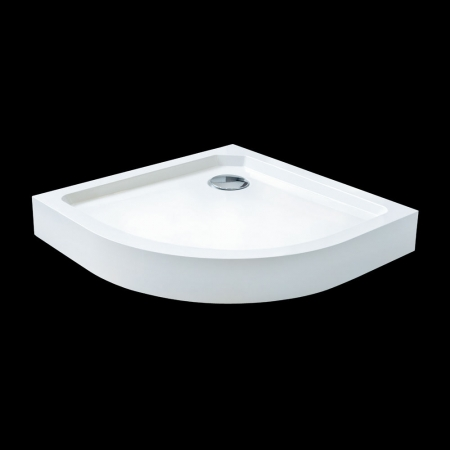 Aquatek - SMC MAXI 90x90cm sprchová vanička z tvrzeného polymeru čtvrtkruhová (SMCMAXI90)