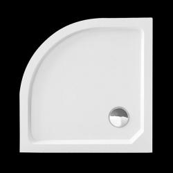 Aquatek - SMC MAXI 90x90cm sprchová vanička z tvrzeného polymeru čtvrtkruhová (SMCMAXI90), fotografie 8/5