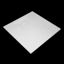 Aquatek - SMC GLOSSY 80x80cm sprchová vanička z tvrzeného polymeru čtvercová (SMCGLOSSY80SQ)