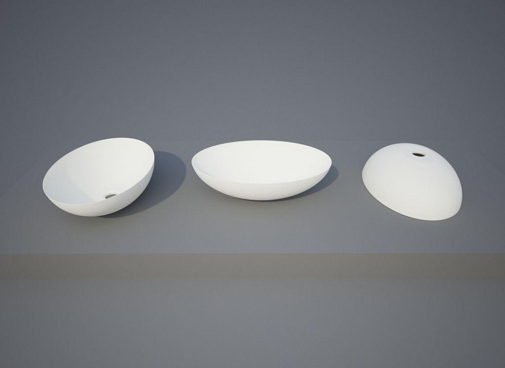 Aquatek - QUEEN oválné umyvadlo 49,7 x 34,7 x 15 cm (QUEEN)
