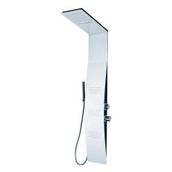 Bermuda hydromasážní sprchový panel, baterie termostatická (Bermuda-25) - Aquatek