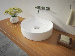 Aquatek - REX keramické umyvadlo na desku 40x35x10 cm (REX)