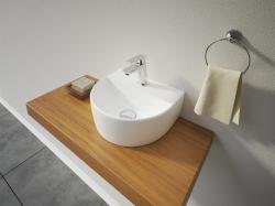 VICTOR keramické umyvadlo na desku 30,5x26x11,5 cm (VICTOR) - Aquatek