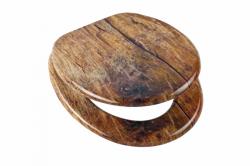 Wc sedátko Solid Wood se zpomalovacím mechanismem SOFT-CLOSE (80124SolidWood) - Eisl