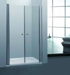 Sprchové dveře PURE D2 100 dvoukřídlé 96-101 x 190 cm (PURE D2 100) - H K