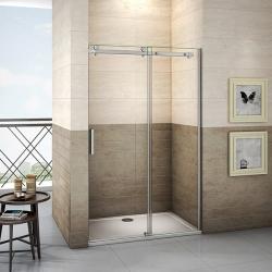 H K - Posuvné sprchové dveře DIAMOND 126- 130x195cm L/P varianta (SE- DIAMOND 130 SET)