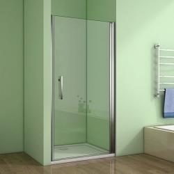 H K - Sprchové dveře MELODY D1 90 jednokřídlé dveře 89-92 x 195 cm (SE- MELODYD190SET)