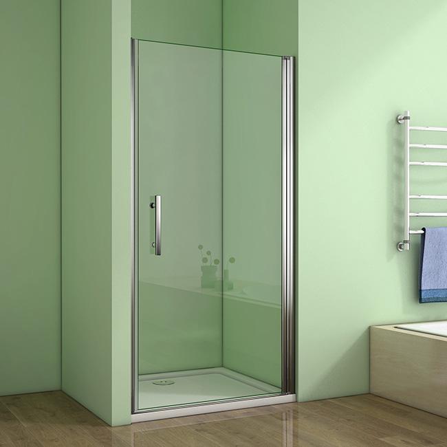 H K Sprchové dveře MELODY D1 80 jednokřídlé dveře 79-82 x 195 cm SE- MELODYD180SET