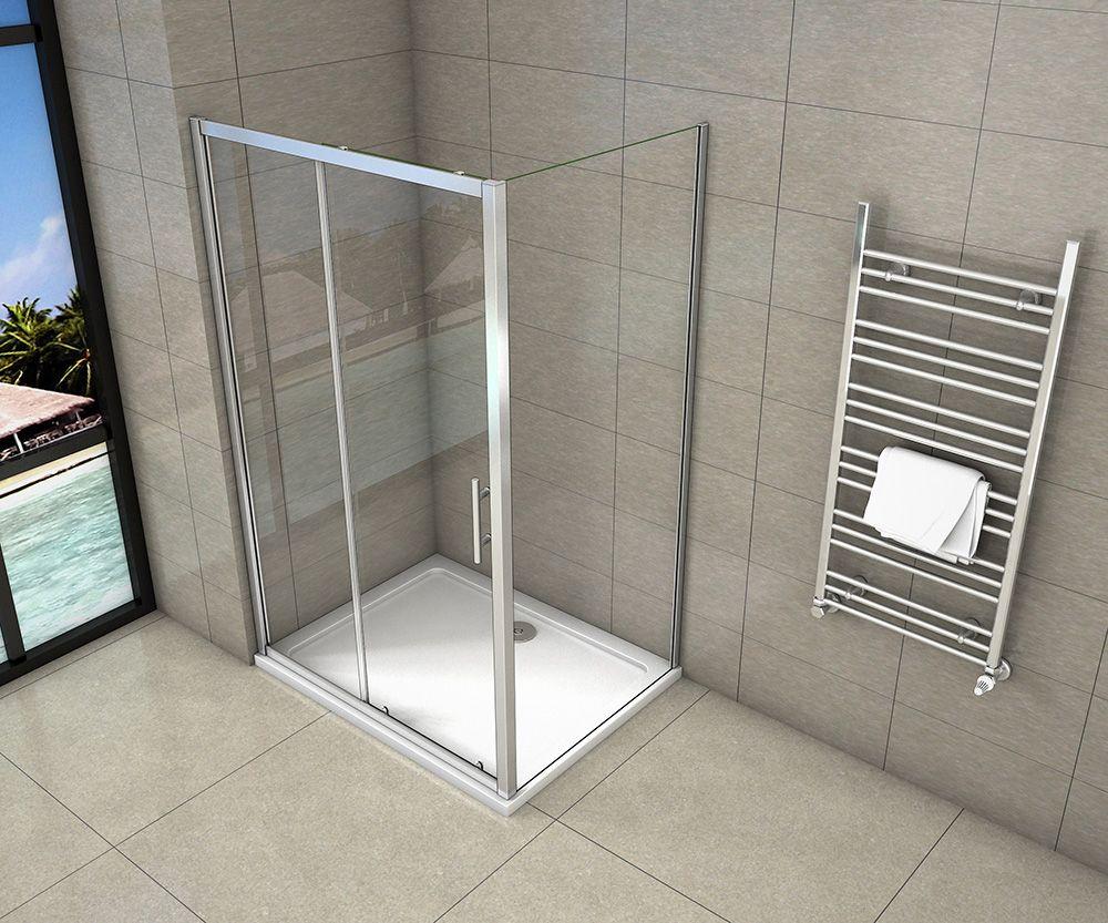 H K - Obdélníkový sprchový kout SYMPHONY 110x80 cm s posuvnými dveřmi včetně sprchové vaničky z litého mramoru (SE-SYMPHONY11080/ROCKY-11080)
