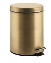 DIAMOND odpadkový koš kulatý 3l, bronz (2609) - SAPHO