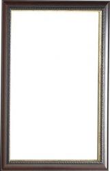 SAPHO - NATURAL zrcadlo v dřevěném rámu 713x913 mm (NL513)