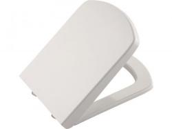BASIC WC sedátko soft close, duroplast, bílá (70122729) - KALE