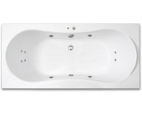 ARTTEC KRONA SURF 180 x 80 hydromasážní akrylátová vana PAN04394