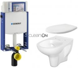 AKCE/SET/GEBERIT - SET Kombifix KOMBIFIX ECO pro závěsné WC, nádržka UP 320 bez Ovládací desky + WC CERSANIT ARTECO CLEANON + SEDÁTKO (110.302.00.5 AT2)