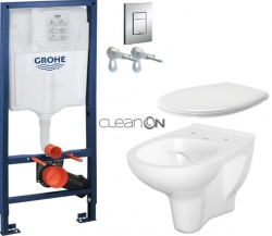 AKCE/SET/GROHE - Rapid SL Rapid SL pro závěsné WC 38528SET + WC CERSANIT ARTECO CLEANON + SEDÁTKO (38772001 AT2)