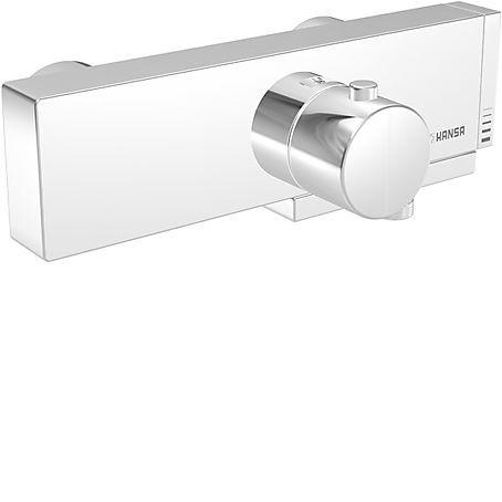 HANSA Cube Termostatická vanová baterie, chrom 58352101