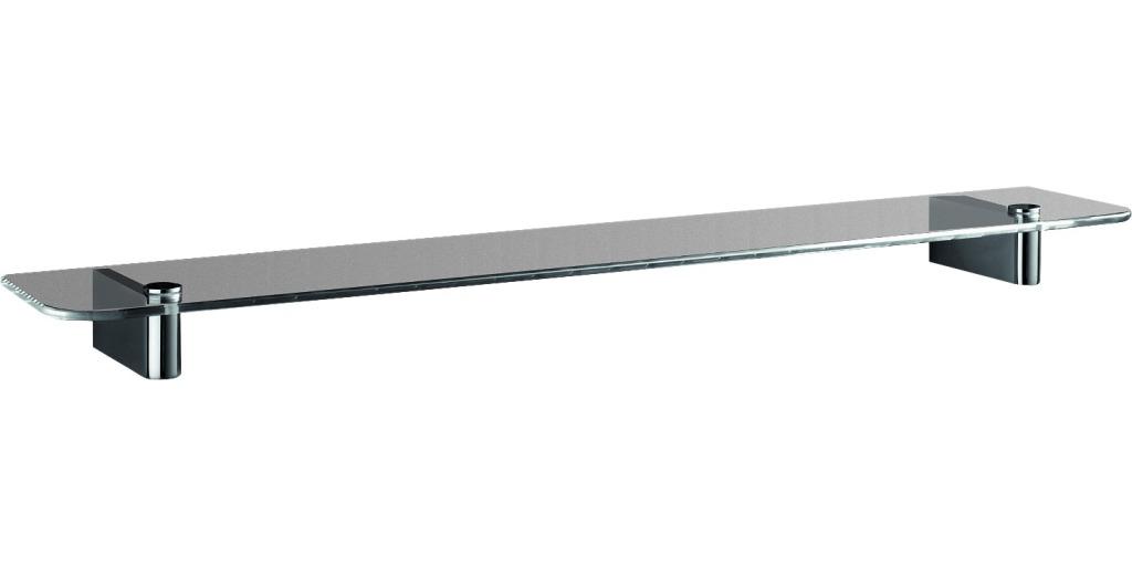 IDEAL STANDARD Connect Skleněná polička pod zrcadlo 400 x 110 x 40,5 mm, chrom N1391AA