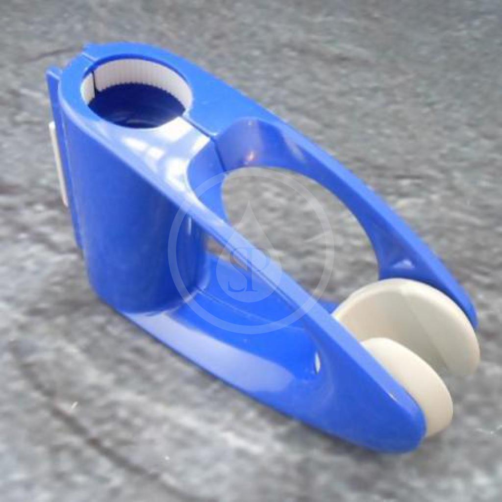Hansgrohe Náhradní díly Jezdec pro sprchovou tyč Unica'D, modrá ( 96190330 )