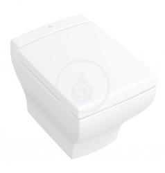 VILLEROY & BOCH - La Belle Závěsný klozet, 385 mm x 585 mm, s Ceramicplus, bílý (562710R1)