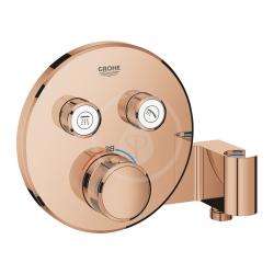 GROHE - Grohtherm SmartControl Termostatická sprchová baterie pod omítku, 2 ventily, s držákem na sprchu, Warm Sunset (29120DA0)